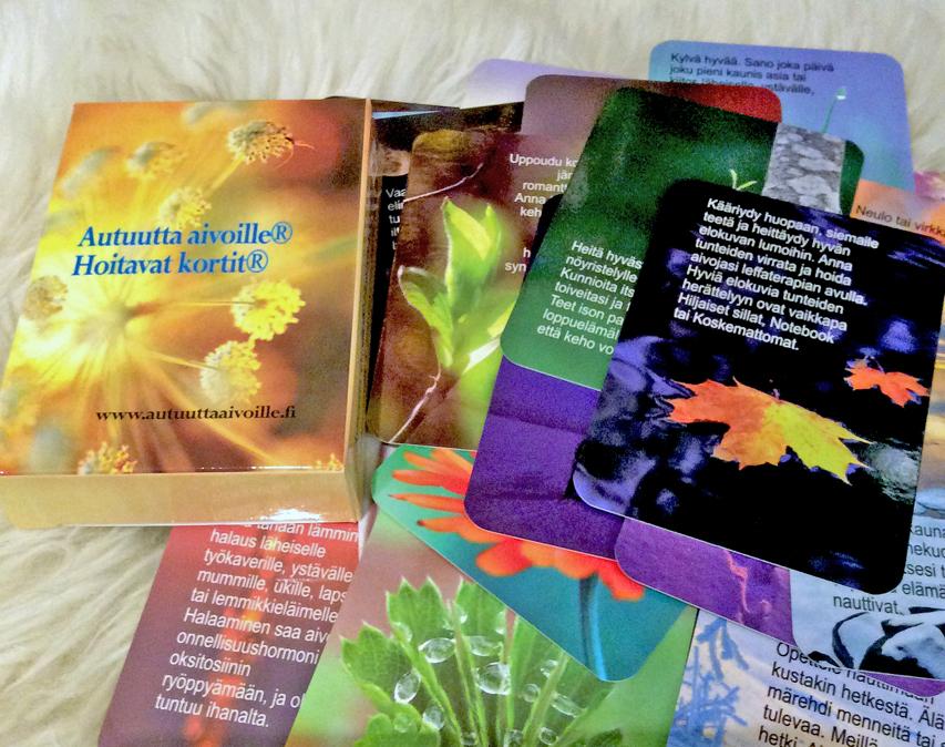 Hoitavat kortit® stressinhallintaan ja toipumisen tueksi