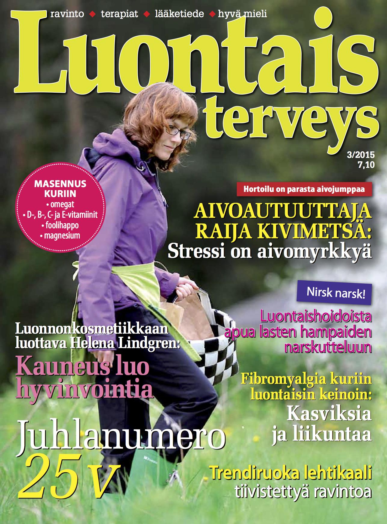 Luontaisterveys 3/2015